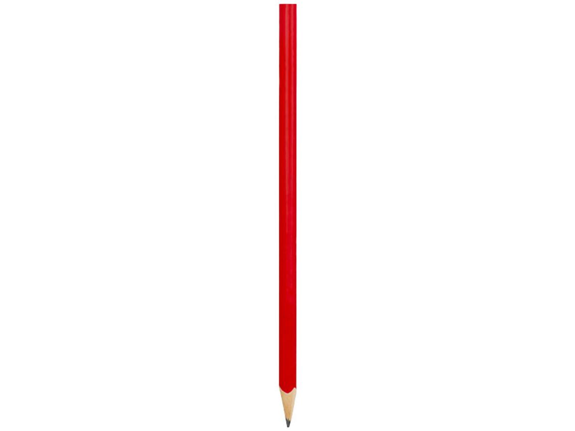 Trix dreieckiger Stift, rot bedrucken, Art.-Nr. 10730702
