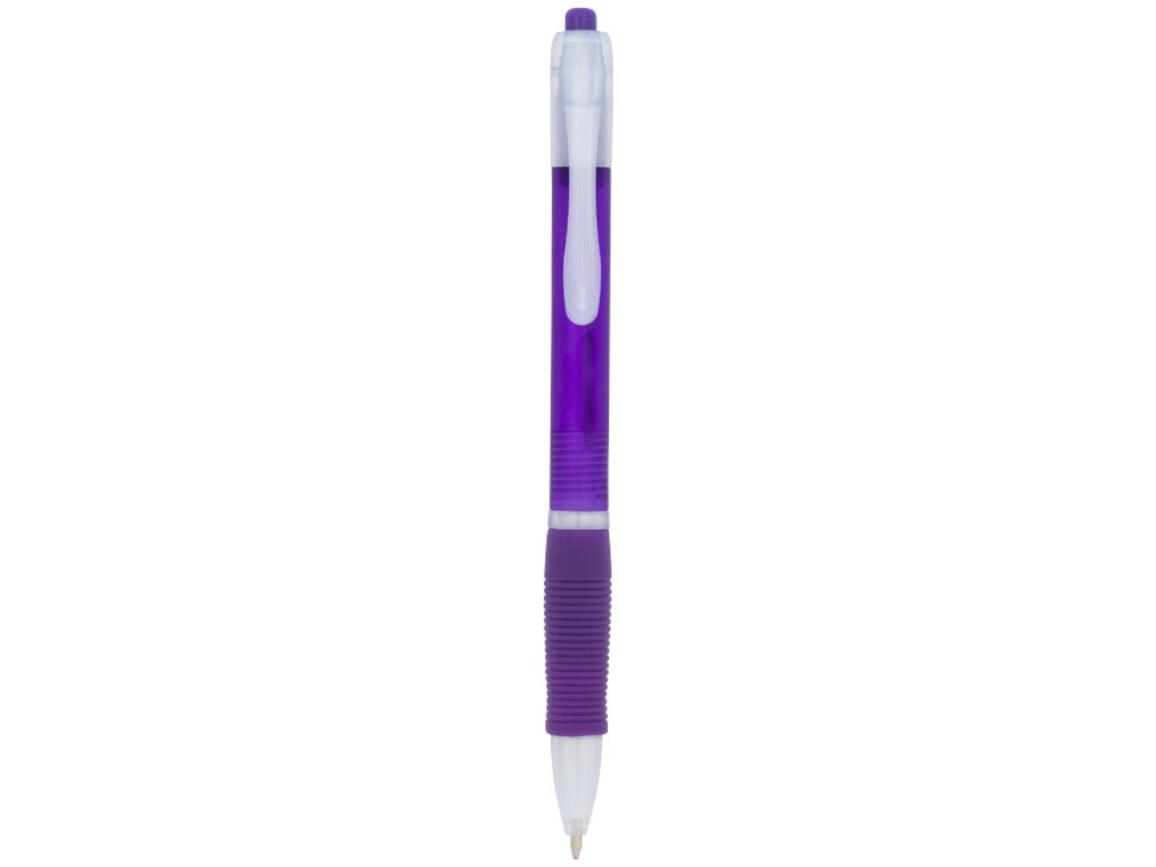 Trim Kugelschreiber, lila bedrucken, Art.-Nr. 10731714
