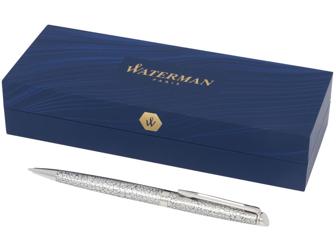 Hémisphère Deluxe Premium Kugelschreiber, silber bedrucken, Art.-Nr. 10732501