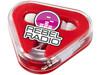 Rebel Ohrhörer, rot, weiss bedrucken, Art.-Nr. 10821302