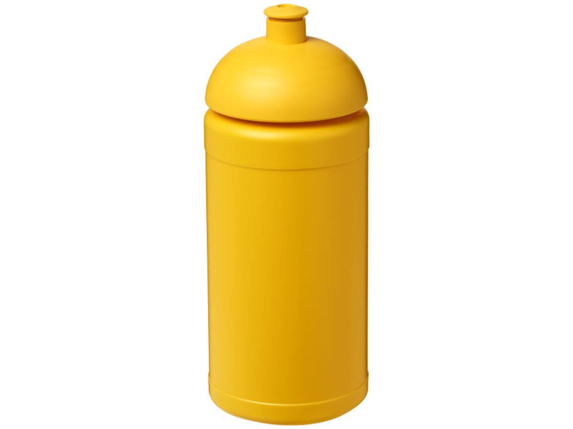 Baseline® Plus 500 ml Sportflasche mit Stülpdeckel, gelb bedrucken, Art.-Nr. 21006921