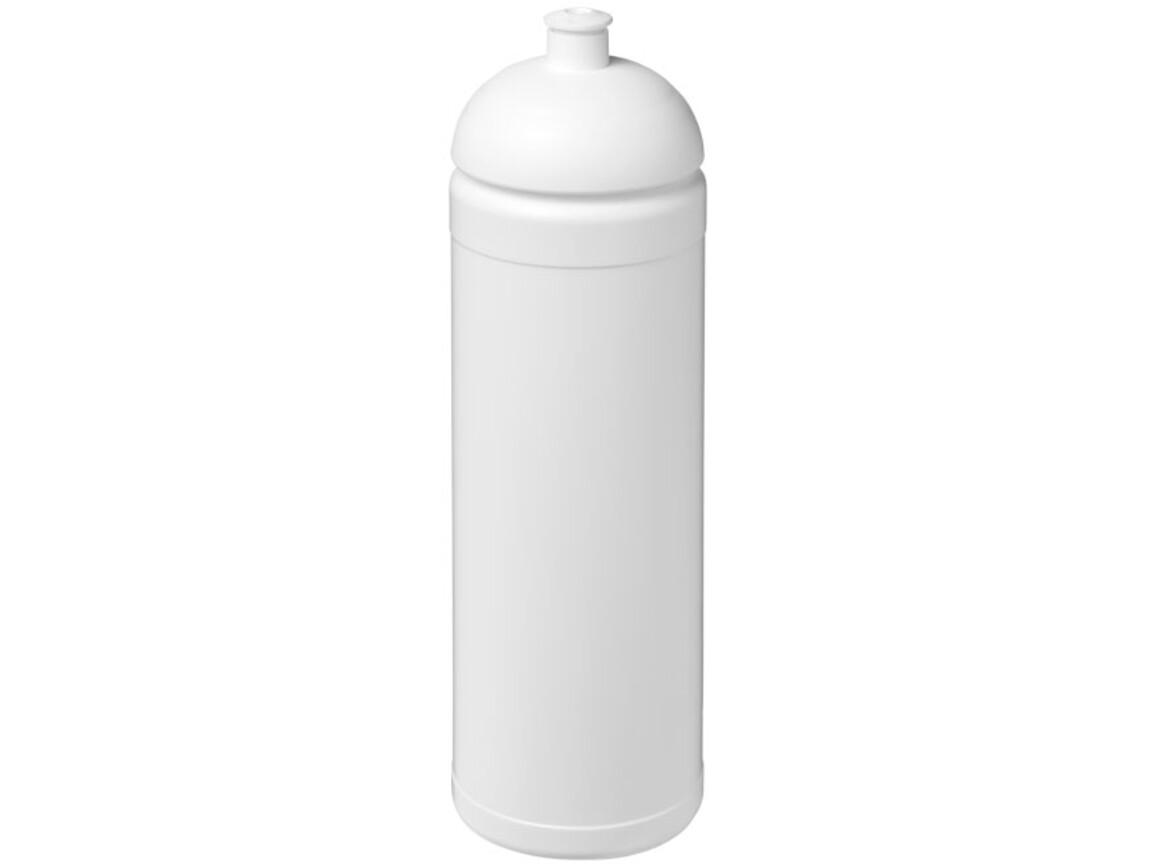 Baseline® Plus 750 ml Sportflasche mit Stülpdeckel, weiss bedrucken, Art.-Nr. 21007101