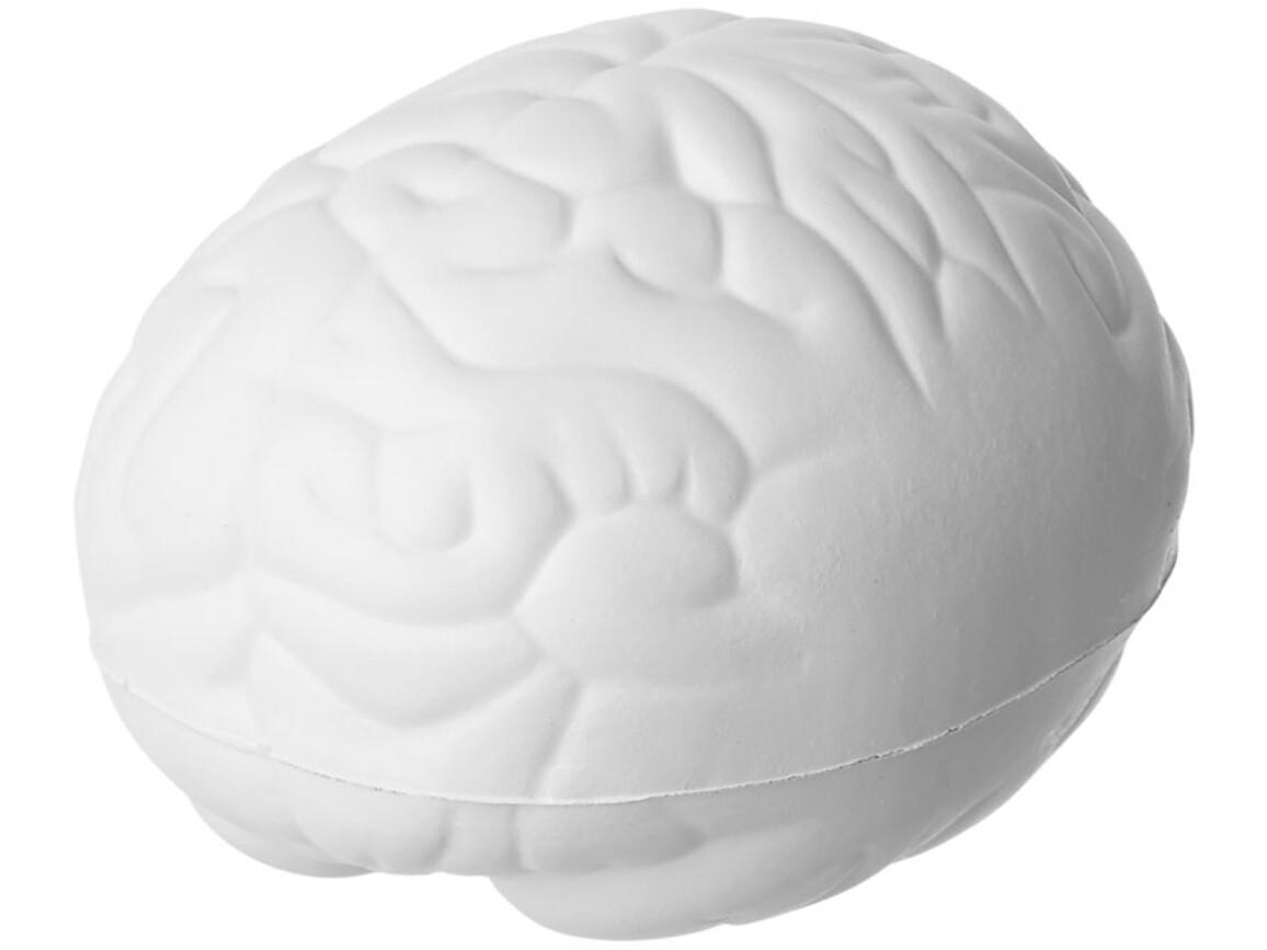 Barrie Antistress Gehirn, weiss bedrucken, Art.-Nr. 21015000