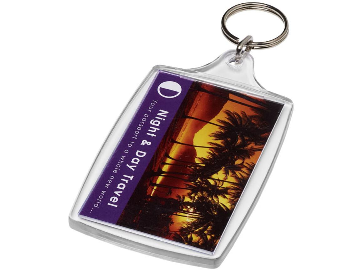 Orca großer L4 Schlüsselanhänger, transparent klar bedrucken, Art.-Nr. 21055300