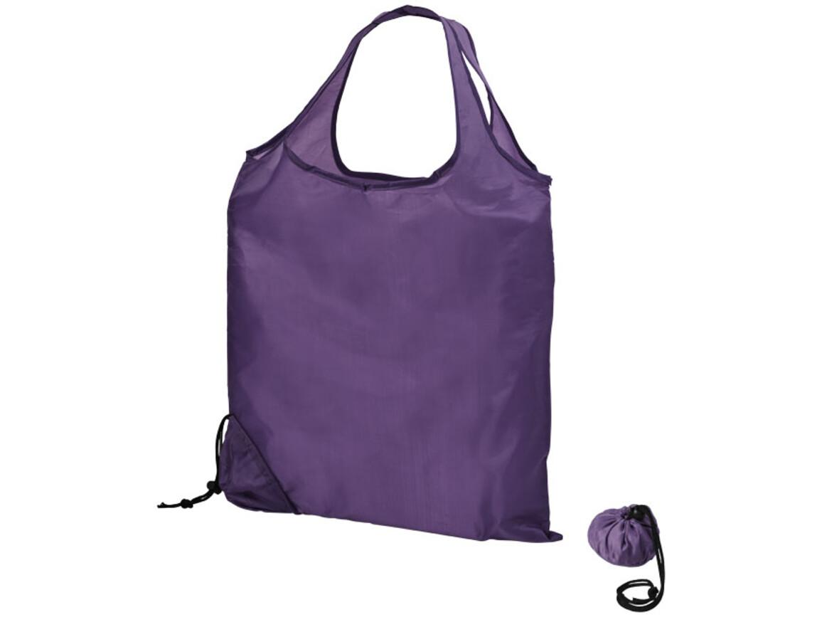 Scrunchy Einkaufstasche, flieder bedrucken, Art.-Nr. 21071701