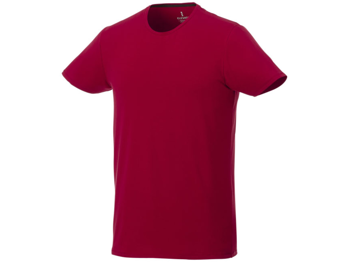 Balfour T-Shirt für Herren, rot bedrucken, Art.-Nr. 38024253
