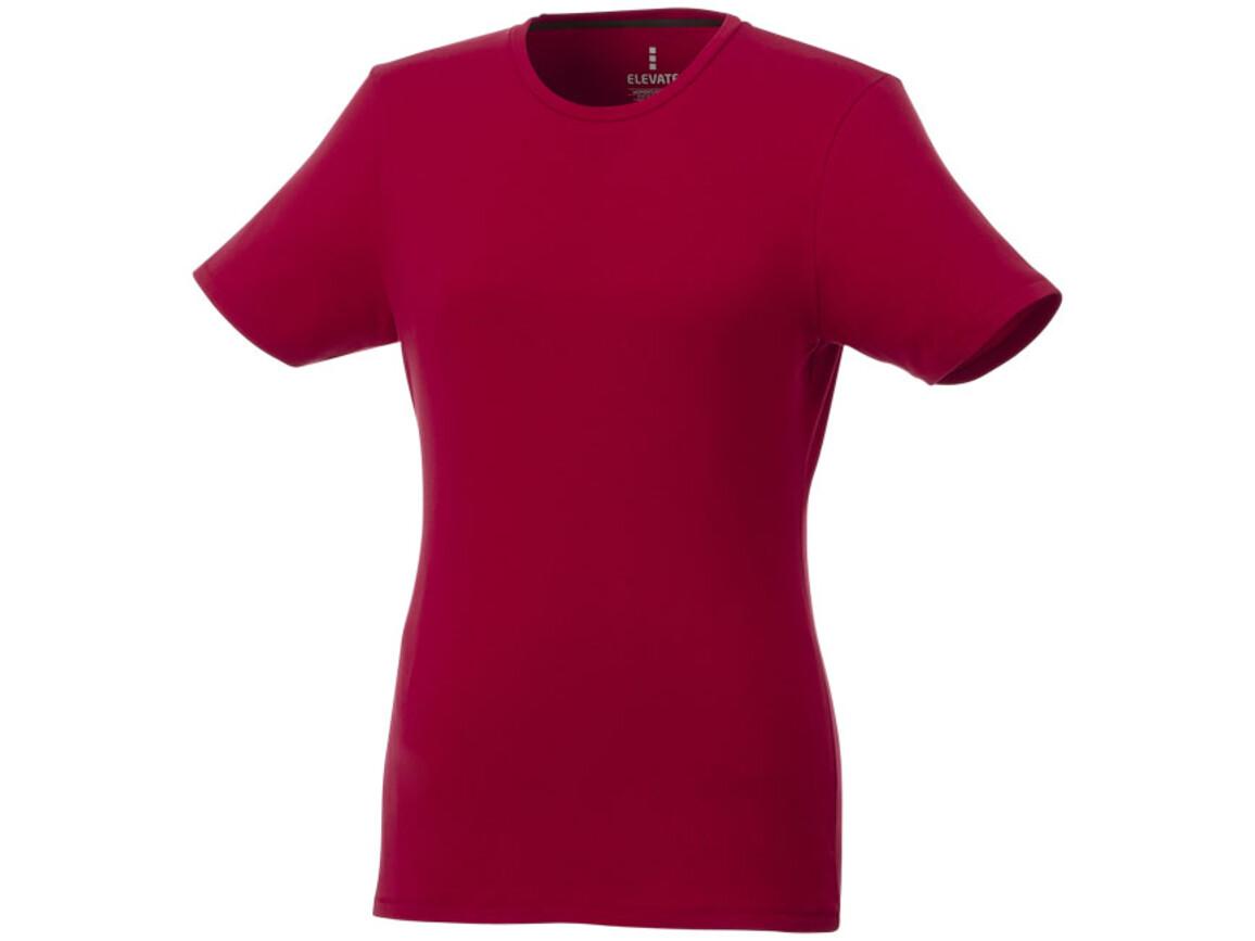 Balfour T-Shirt für Damen, rot bedrucken, Art.-Nr. 38025250