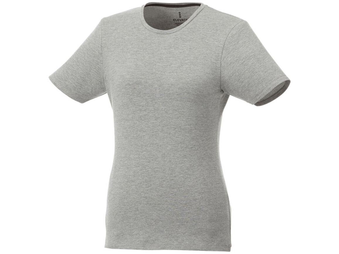 Balfour T-Shirt für Damen, grau meliert bedrucken, Art.-Nr. 38025961