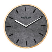Wanduhr REFLECTS-BARCELONA GREY bedrucken, Art.-Nr. 52402