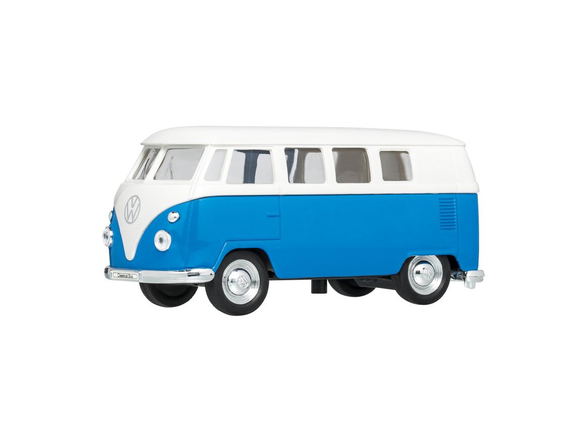 Modellauto VW T1 1:38 BLUE bedrucken, Art.-Nr. WEL49764-BE