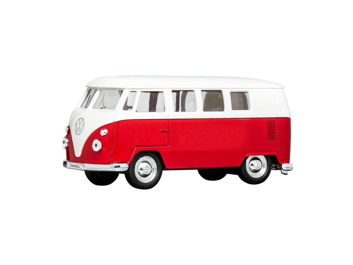 Modellauto VW T1 1:38 RED bedrucken, Art.-Nr. WEL49764-RD