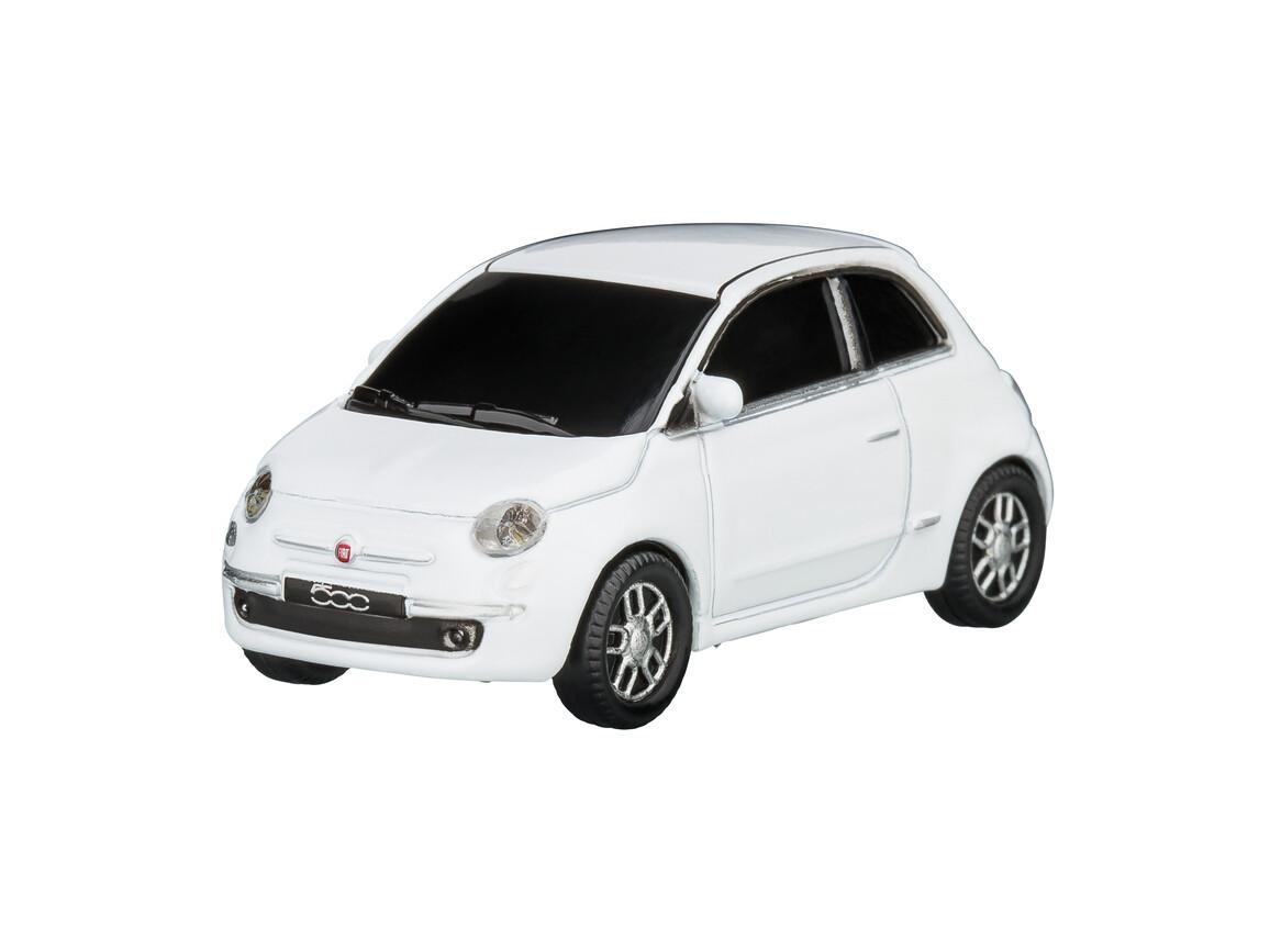 USB-Speicherstick Fiat 500 2007 1:68 WHITE 16GB bedrucken, Art.-Nr. WEL92905-WE-16GB