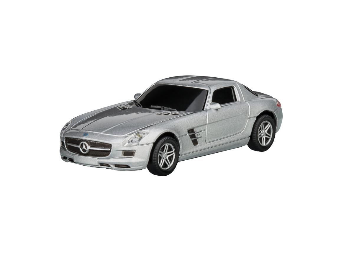 USB-Speicherstick Mercedes Benz SLS 1:72 SILVER 16GB bedrucken, Art.-Nr. WEL92915-SR-16GB