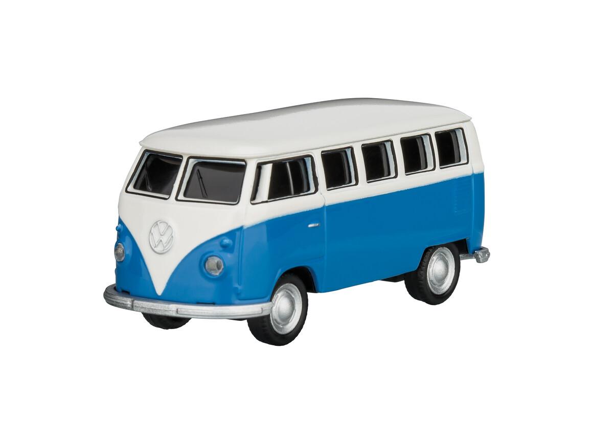 USB-Speicherstick VW Bus T1 1:72 BLUE 16GB bedrucken, Art.-Nr. WEL92918-BE-16GB