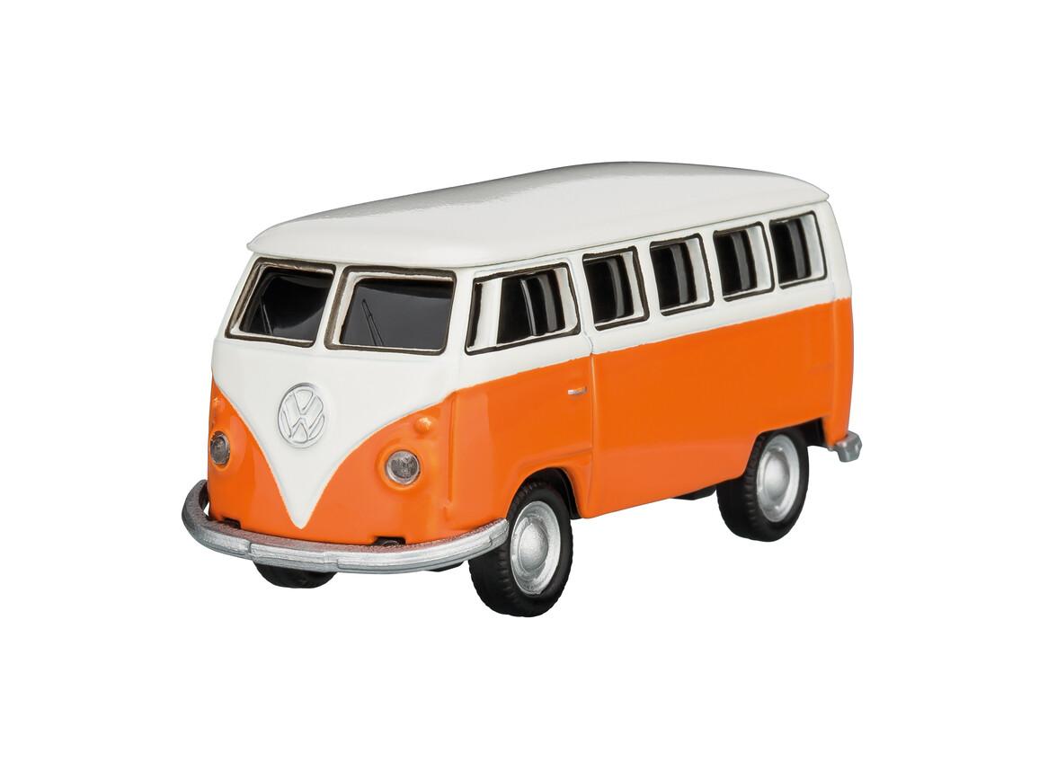 USB-Speicherstick VW Bus T1 1:72 ORANGE 16GB bedrucken, Art.-Nr. WEL92918-OE-16GB
