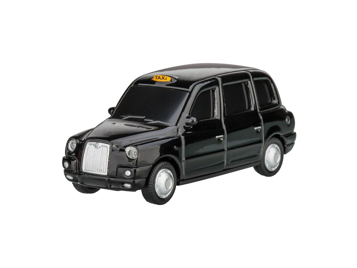 USB-Speicherstick London Taxi TX4 1:72 BLACK 16GB bedrucken, Art.-Nr. WEL92920-BK-16GB