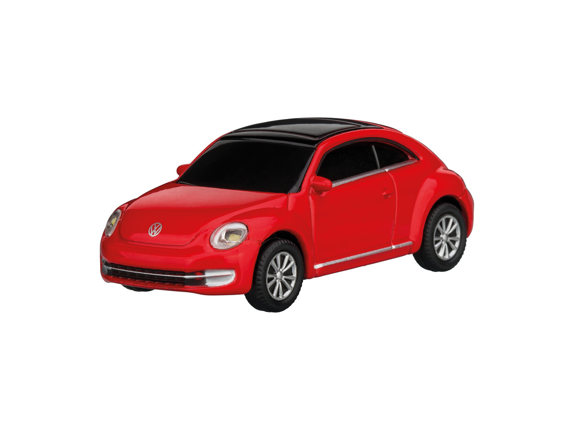 USB-Speicherstick VW Beetle 1:72 RED 16GB bedrucken, Art.-Nr. WEL92921-RD-16GB