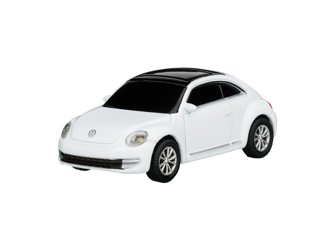 USB-Speicherstick VW Beetle 1:72 WHITE 16GB bedrucken, Art.-Nr. WEL92921-WE-16GB