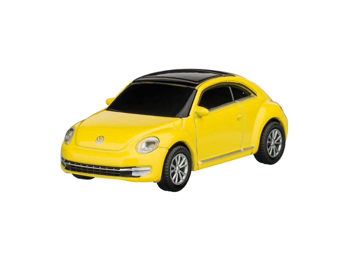 USB-Speicherstick VW Beetle 1:72 YELLOW 16GB bedrucken, Art.-Nr. WEL92921-YW-16GB