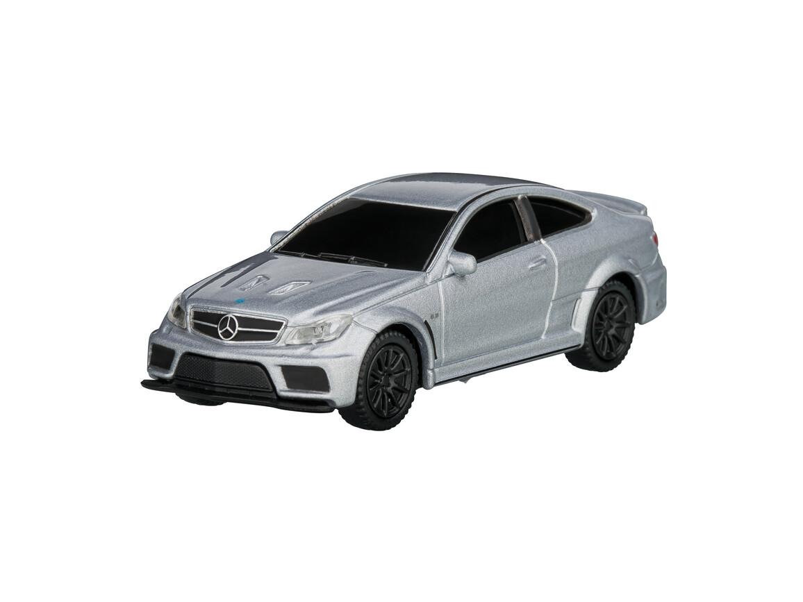 USB-Speicherstick Mercedes Benz C63 AMG 1:72 SILVER 16GB bedrucken, Art.-Nr. WEL92938-SR-16GB
