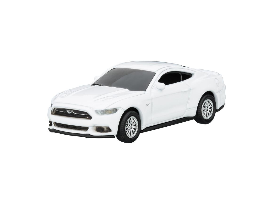 USB-Speicherstick Ford Mustang 1:72 WHITE 16GB bedrucken, Art.-Nr. WEL92940-WE-16GB