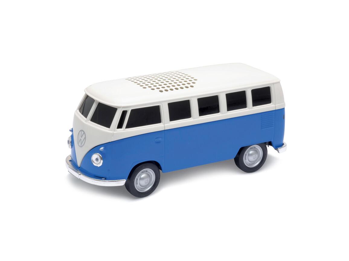 Lautsprecher mit Bluetooth® Technologie VW Bus T1 1:36 BLUE bedrucken, Art.-Nr. WEL94002BT-BE