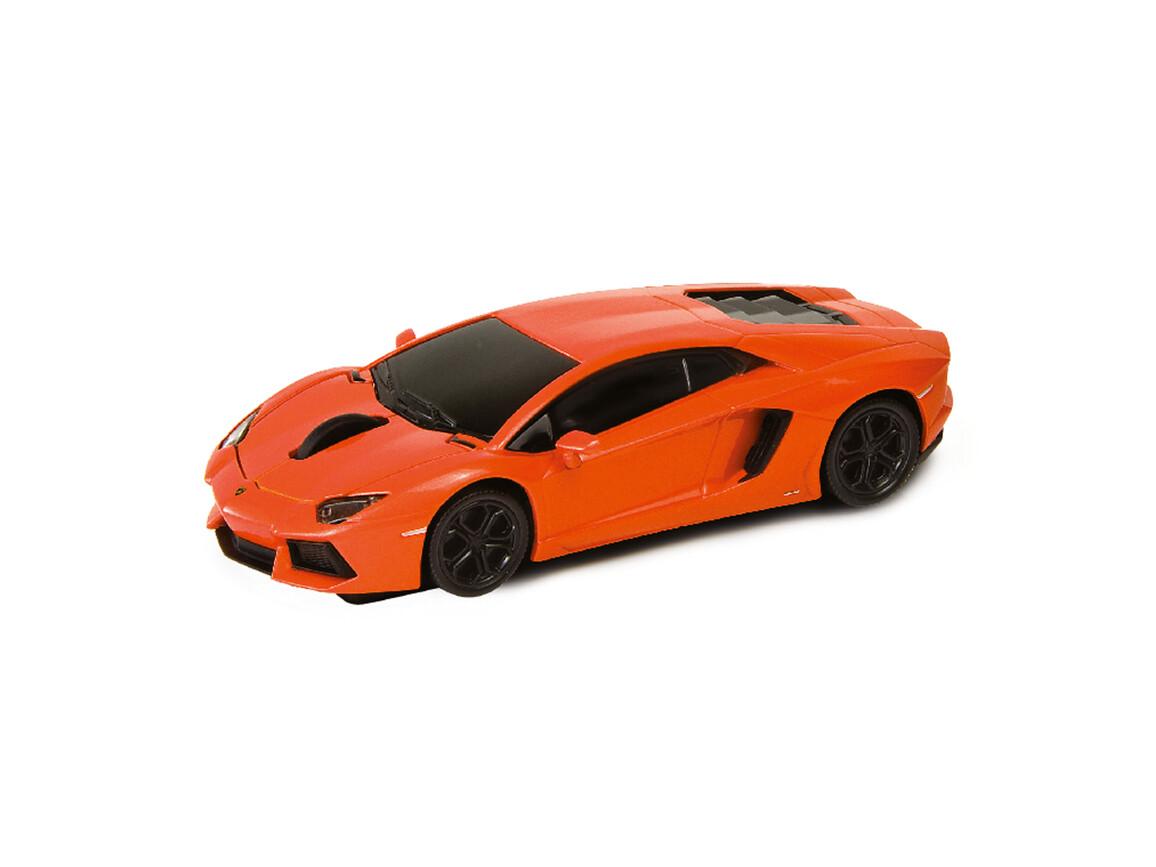 Computermaus Lamborghini Aventador 1:32 ORANGE bedrucken, Art.-Nr. WEL95901-OE