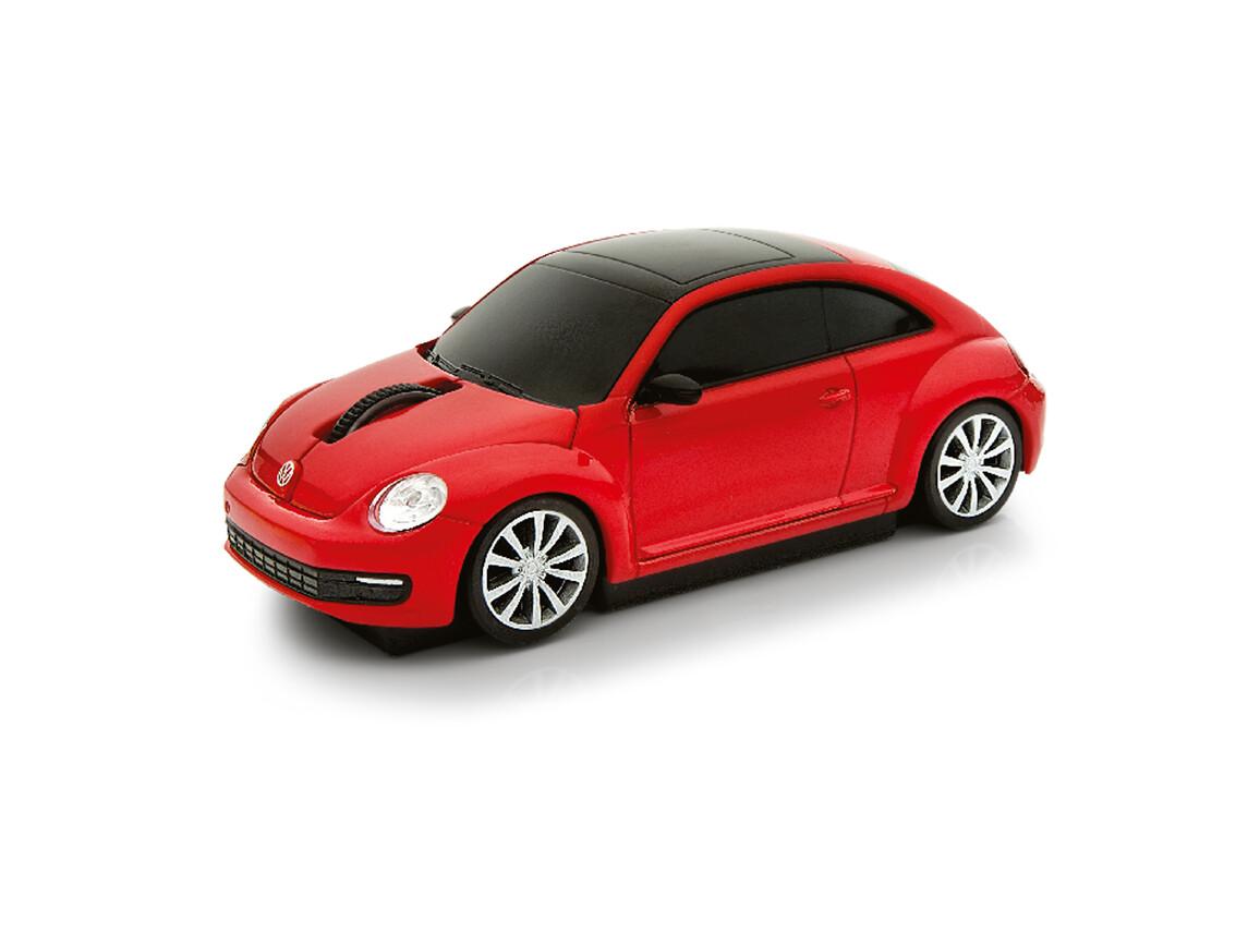 Computermaus VW Beetle 1:32 RED bedrucken, Art.-Nr. WEL95911-RD