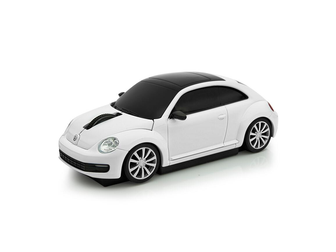 Computermaus VW Beetle 1:32 WHITE bedrucken, Art.-Nr. WEL95911-WE
