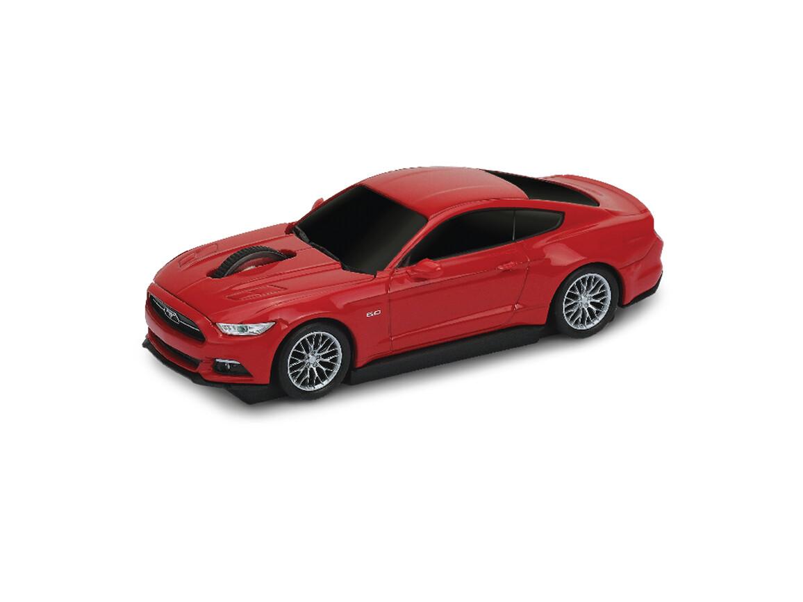 Computermaus Ford Mustang 1:32 RED bedrucken, Art.-Nr. WEL95914-RD