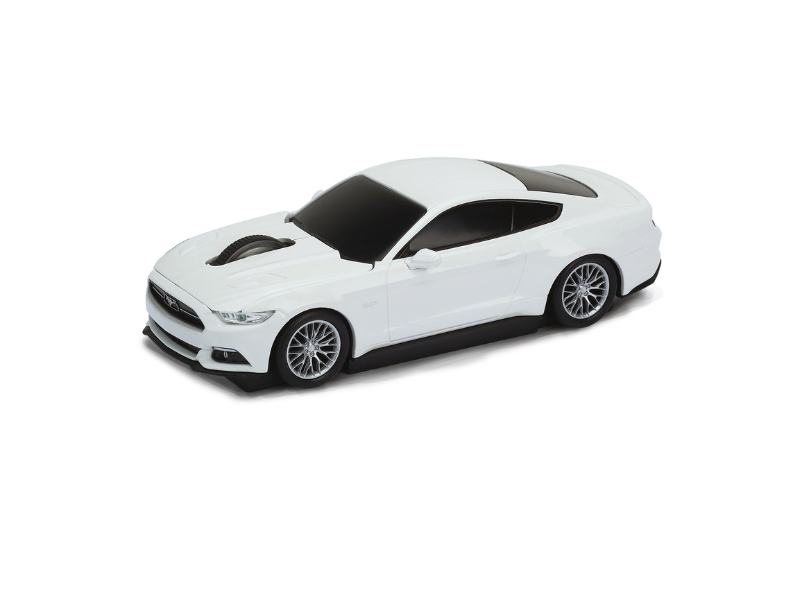 Computermaus Ford Mustang 1:32 WHITE bedrucken, Art.-Nr. WEL95914-WE