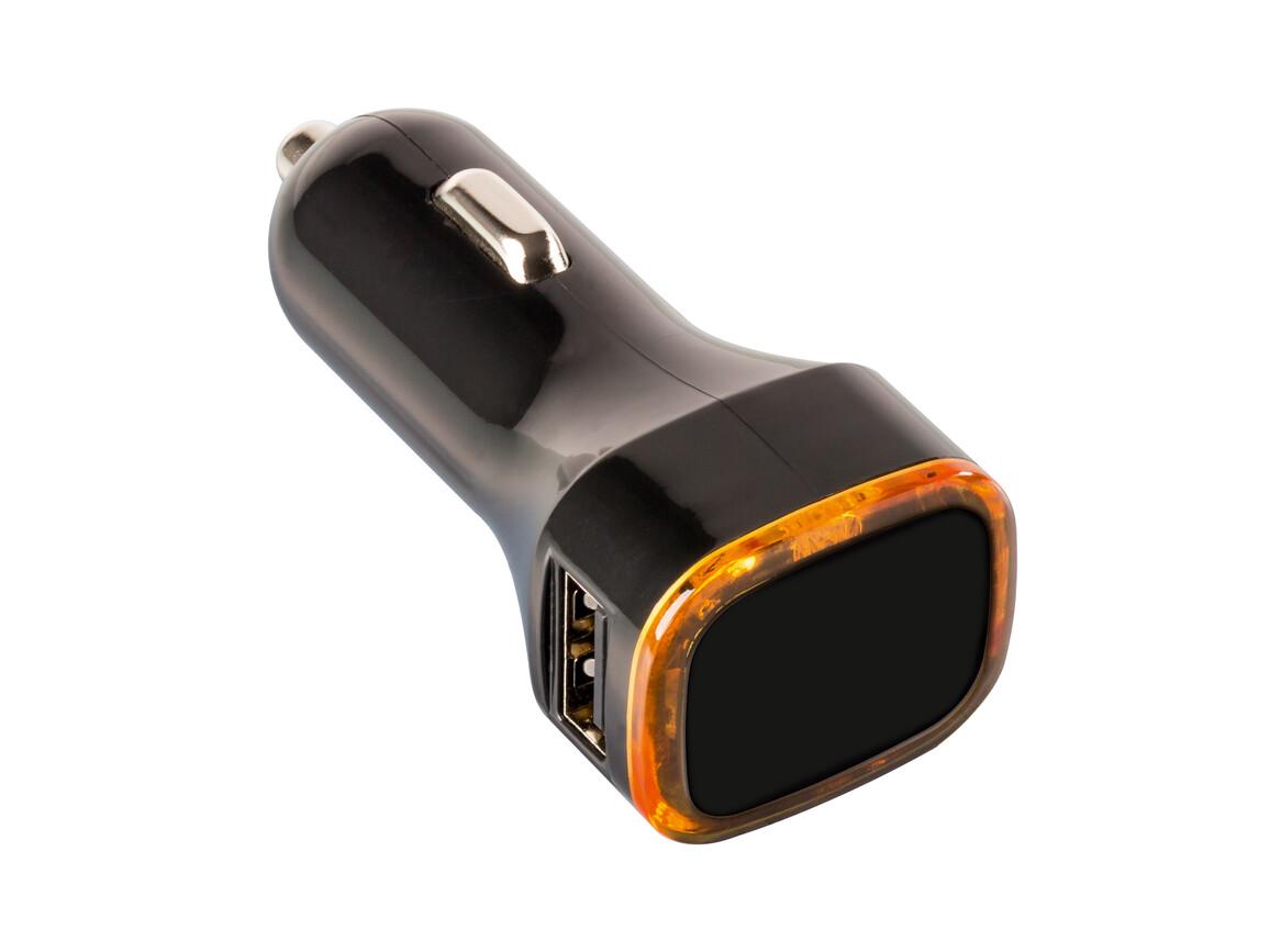 USB Autoladeadapter REFLECTS-COLLECTION 500 bedrucken, Art.-Nr. _S_80500-BK-OE