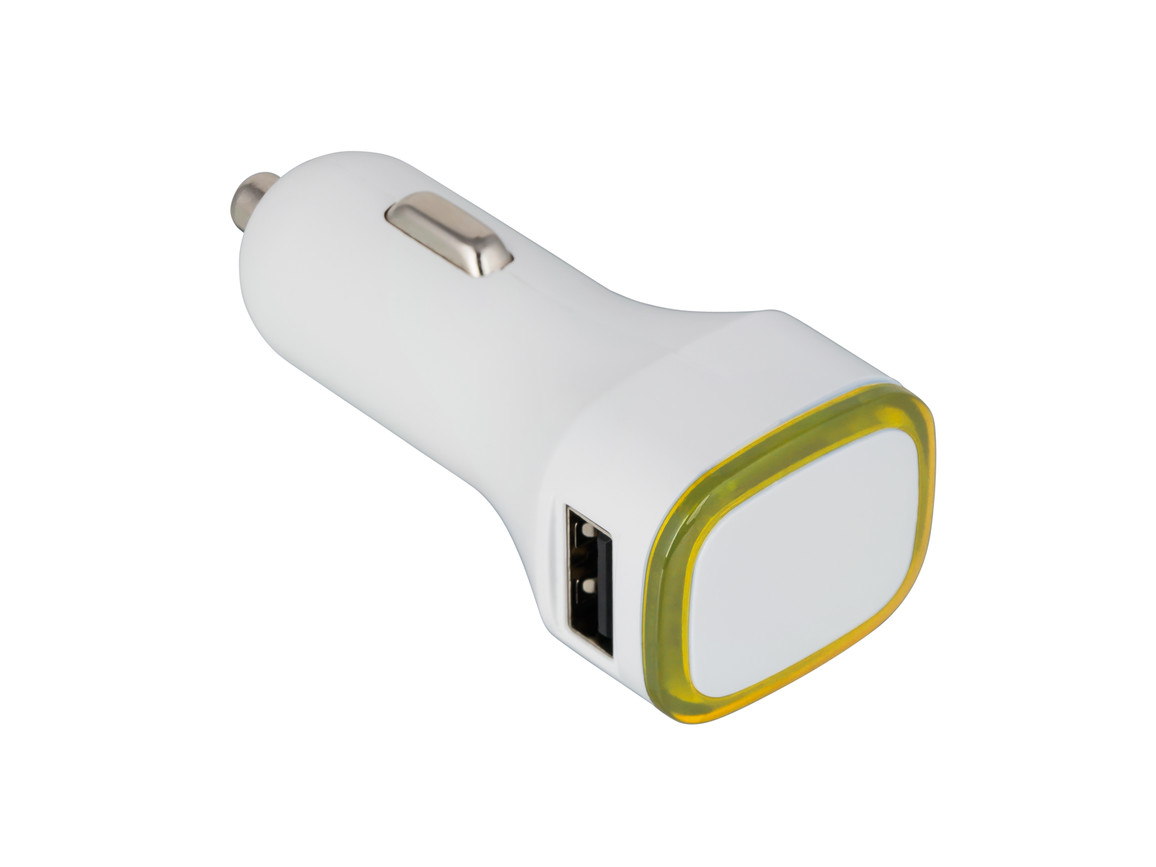 USB Autoladeadapter REFLECTS-COLLECTION 500 bedrucken, Art.-Nr. _S_80500-WE-YW