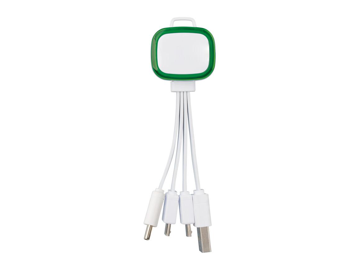 Multi-USB-Ladekabel REFLECTS-COLLECTION 500 bedrucken, Art.-Nr. _S_80502-WE-GN