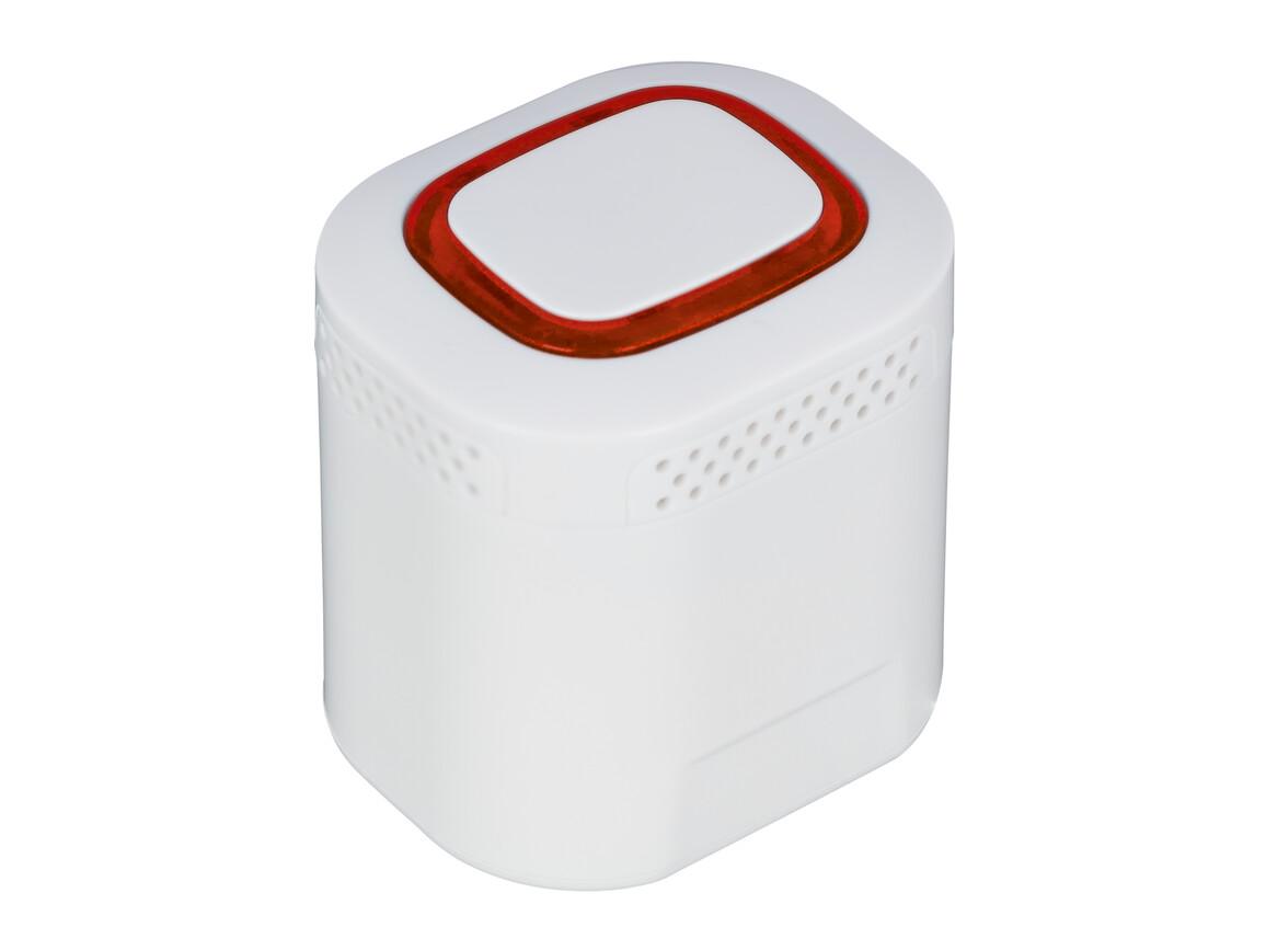 Bluetooth®-Lautsprecher S REFLECTS-COLLECTION 500 bedrucken, Art.-Nr. _S_80504-WE-RD
