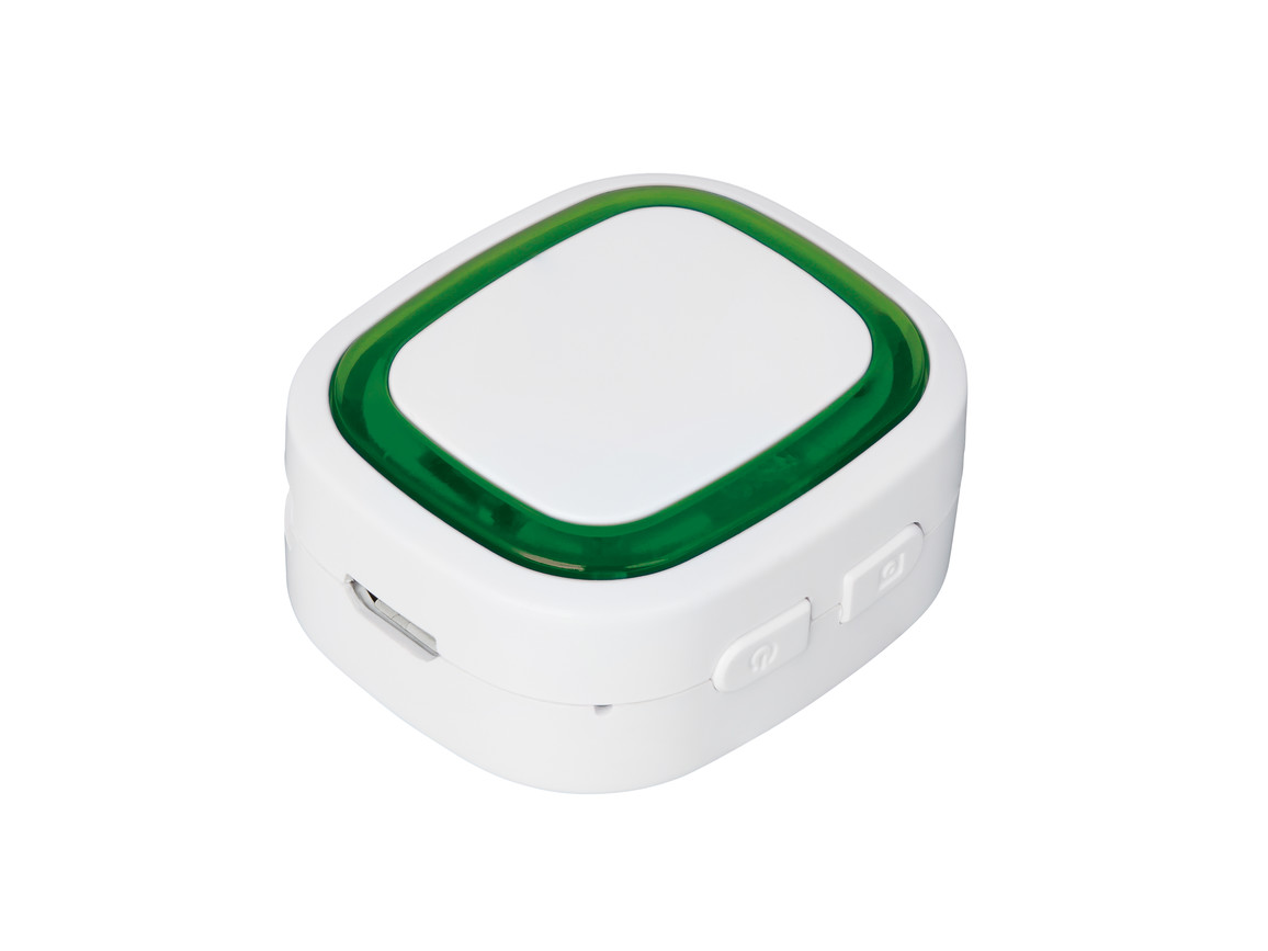 Bluetooth®-Adapter REFLECTS-COLLECTION 500 bedrucken, Art.-Nr. _S_80510-WE-GN