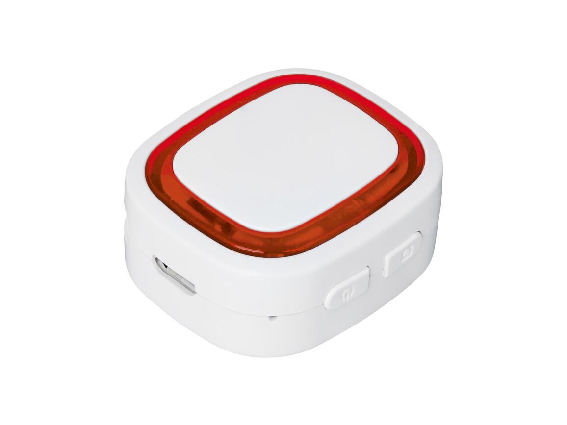 Bluetooth®-Adapter REFLECTS-COLLECTION 500 bedrucken, Art.-Nr. _S_80510-WE-RD