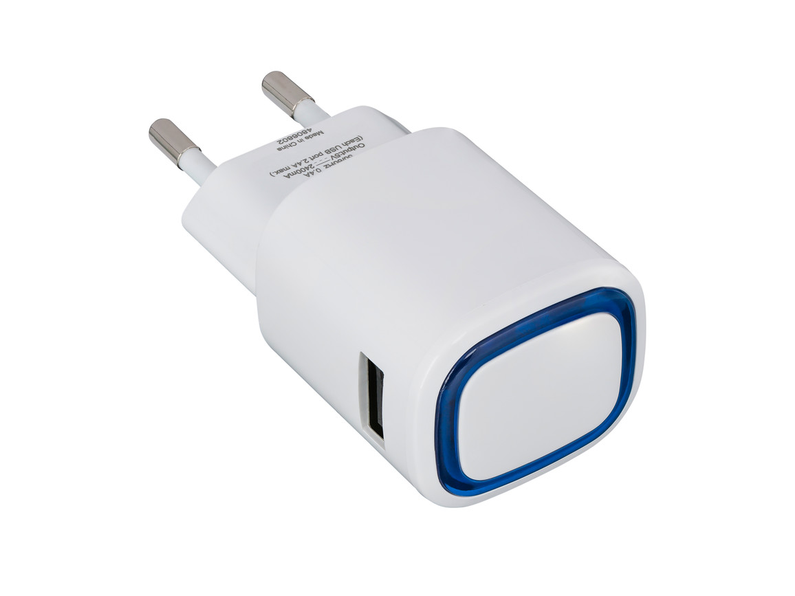 USB-Ladeadapter REFLECTS-COLLECTION 500 bedrucken, Art.-Nr. _S_80518-WE-BE
