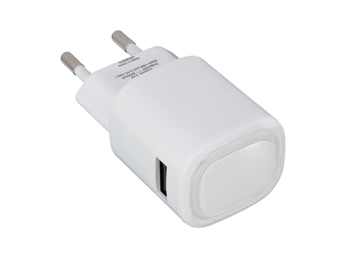 USB-Ladeadapter REFLECTS-COLLECTION 500 bedrucken, Art.-Nr. _S_80518-WE-CR