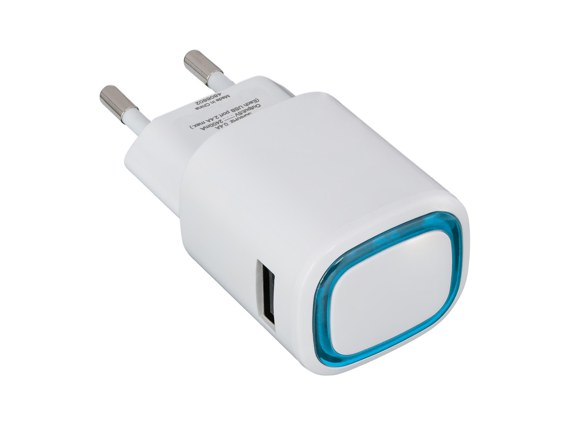 USB-Ladeadapter REFLECTS-COLLECTION 500 bedrucken, Art.-Nr. _S_80518-WE-LBE
