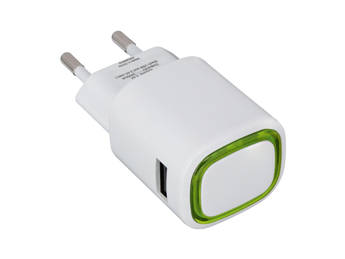 USB-Ladeadapter REFLECTS-COLLECTION 500 bedrucken, Art.-Nr. _S_80518-WE-LGN