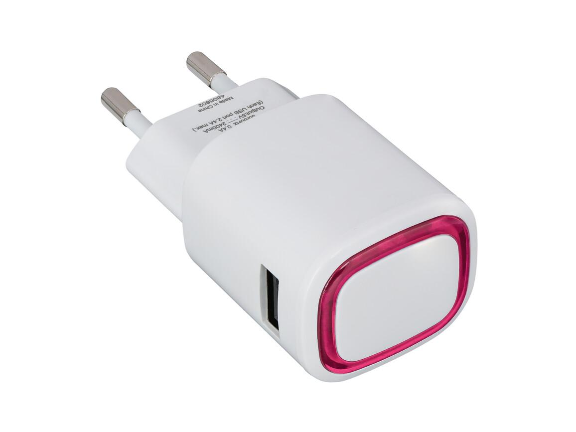 USB-Ladeadapter REFLECTS-COLLECTION 500 bedrucken, Art.-Nr. _S_80518-WE-MG