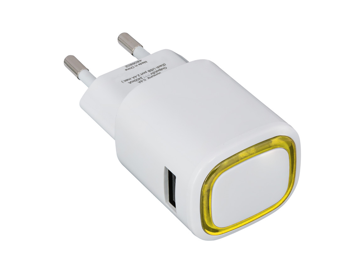USB-Ladeadapter REFLECTS-COLLECTION 500 bedrucken, Art.-Nr. _S_80518-WE-YW