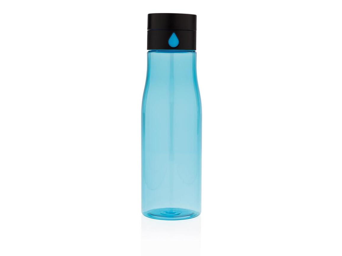 Aqua Hydration-Flasche blau bedrucken, Art.-Nr. P436.895