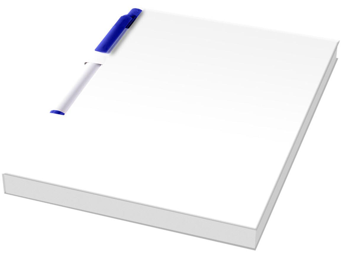 Essential Conference Pack A6 Notizbuch und Stift, weiss, blau bedrucken, Art.-Nr. 21276002