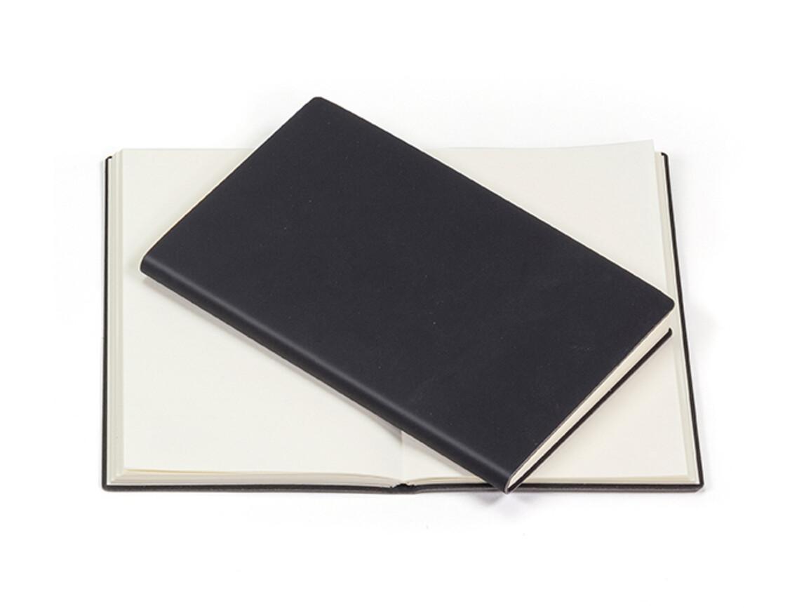 Notizblock Notizblock schwarz neutral–schwarz bedrucken, Art.-Nr. 69.7605_5111