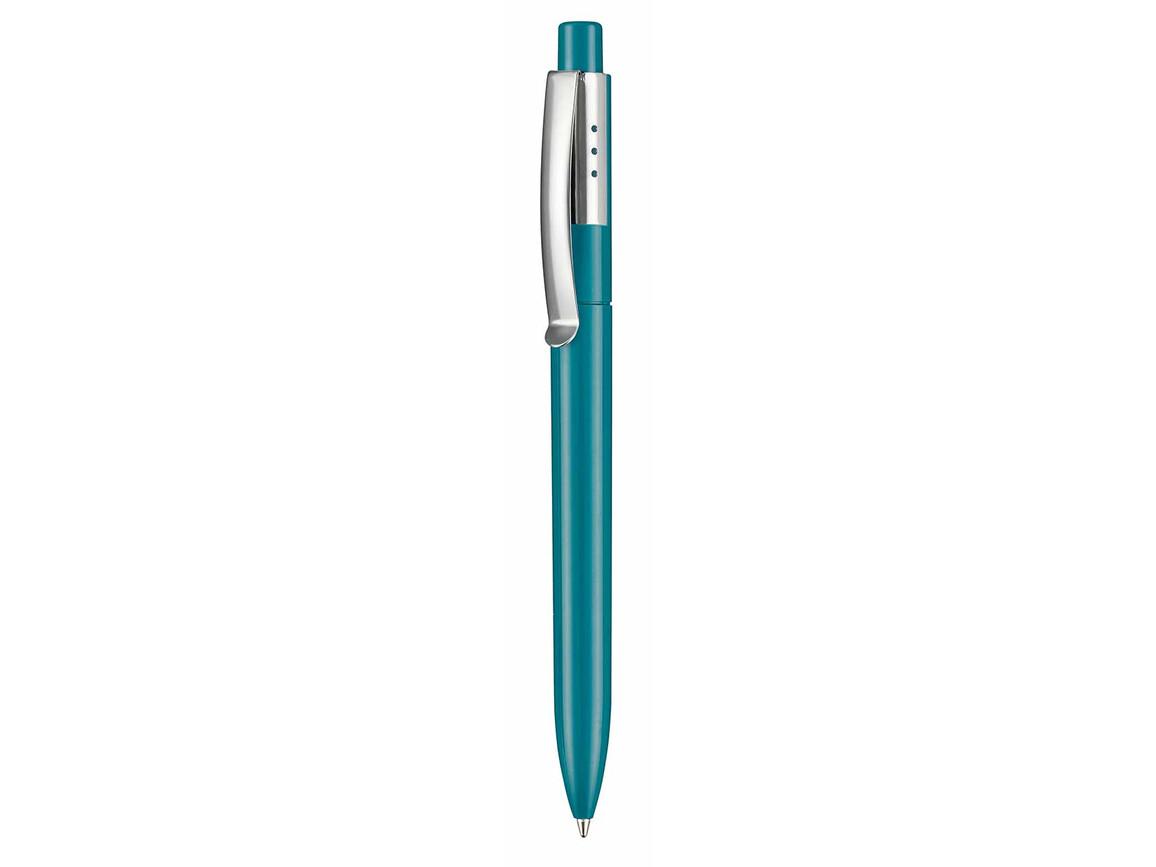 Kugelschreiber ELEGANCE–petrol-türkis bedrucken, Art.-Nr. 05300_1101