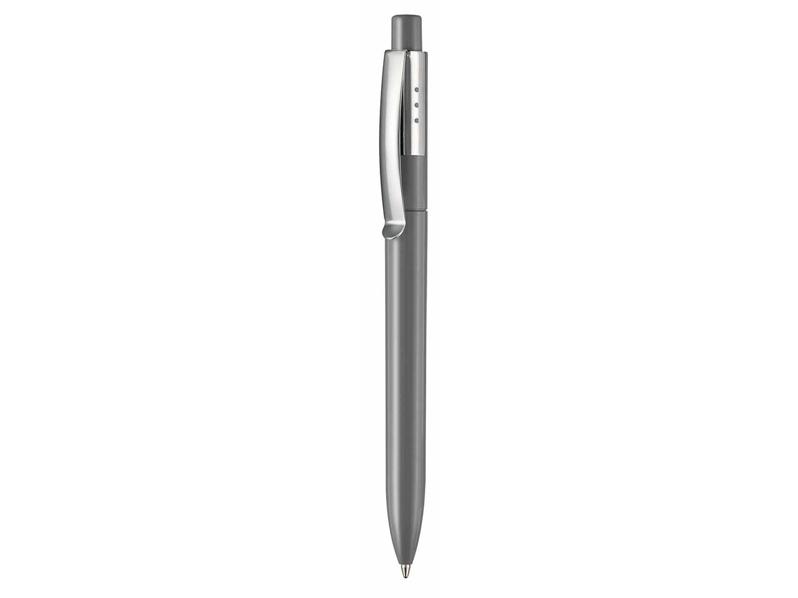 Kugelschreiber ELEGANCE–stein-grau bedrucken, Art.-Nr. 05300_1400
