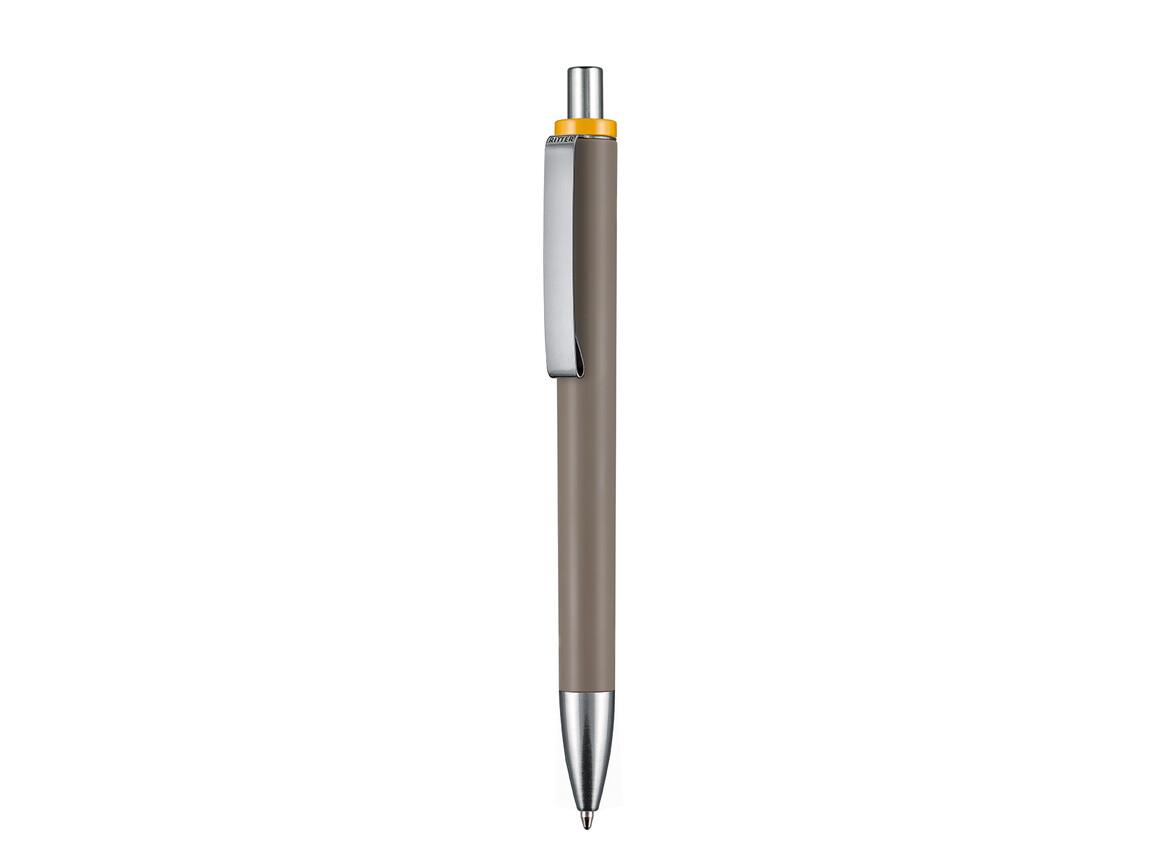 Kugelschreiber EXOS M–sienna bedrucken, Art.-Nr. 07603_0422