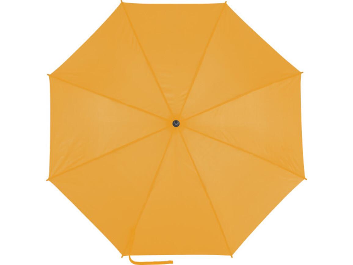 Automatik Stockschirm 'Colourful' aus Pongee-Polyester – Orange bedrucken, Art.-Nr. 007999999_0945